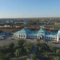 КАЗАЛИНСКИЙ  ЖД  ВОКЗАЛ Автор фото Николай Гребнев ., Казалинск