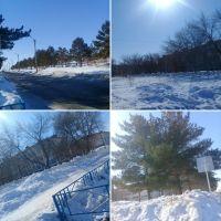 Зима в Лисаковске , Лисаковск
