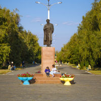 памятник Пушкину, Лисаковск