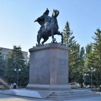 Памятник Сырым Датову, Уральск