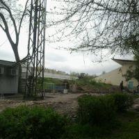 Стадион Манас на ремонте, Кара-Балта