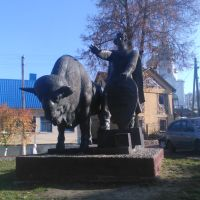 Каменец Памятник основателю, Каменец