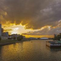 река Свислоч, Минск