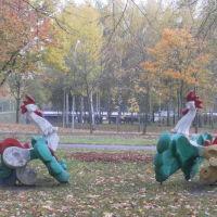 Осень в городе, Новополоцк