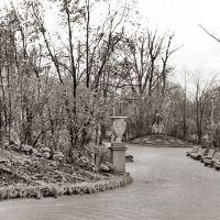 Панорама гомельского парка начала-середины 1950-х , Гомель