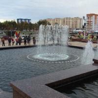 Жлобин-Музыкальный фонтан дворца металлургов, Жлобин