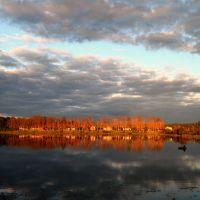 озеро на реке бобр, Крупки