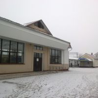 железнодорожный вокзал, Молодечно