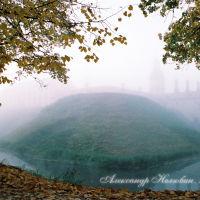 Замок в тумане осенью 2008, Несвиж