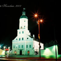 ратуша - новый год, Несвиж