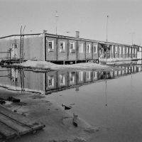 Весна на вахтовом поселке в 1987г., Лянтор
