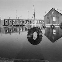 Лянтор, вахтовый поселок, общежитие №14 весной 1987г. , Лянтор