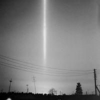 Световой столб. 1985г., Лянтор