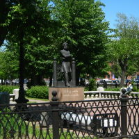 памятник Пушкину на Ленинском проспекте (1), Барнаул
