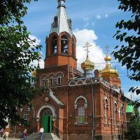 Никольская церковь на Ленинском проспекте, Барнаул
