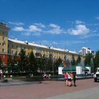 площадь Ветеранов, Барнаул