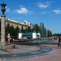 фонтан на площади Ветеранов, Барнаул