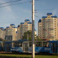 жилые дома на кольце Малахова, Барнаул