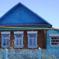 Деревянная резьба Г. Шаранова, Зилаир