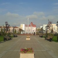 Сквер Поярков А., Стерлитамак