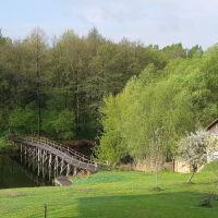 мостик у мини гостиницы, Волоконовка