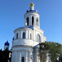 Колокольня Всех Святых с надвратной церковью Успения Пресвятой Богородицы и Святыми воротами, Боголюбово