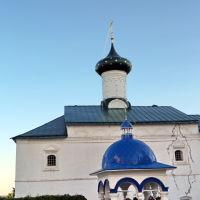 Трапезная церковь Благовещения 17 век, Боголюбово