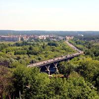 Вид на Судогодское шоссе и Клязьму, Владимир