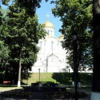 Свято-Успенский кафедральный собор из парка им. А.С. Пушкина, Владимир