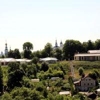 Вид на Патриаршие сады из парка им. А.С. Пушкина, Владимир