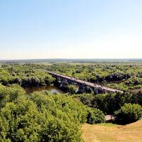 Вид на мост через Клязьму, Владимир