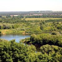 Вид на Клязьму со смотровой площадки, Владимир