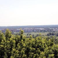 Вид на Октябрьский со смотровой площадки, Владимир