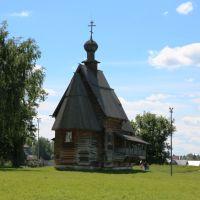 Никольская деревянная церковь, Суздаль