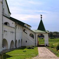 Крыльцо в Суздальском кремле, Суздаль