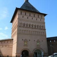 Главная проездная башня Спасо-Евфимиевского монастыря, Суздаль