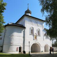 Надвратная церковь Благовещения Пресвятой Богородицы Спасо-Евфимиевского монастыря, Суздаль