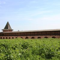Во дворе Спасо-Евфимиевского монастыря, Суздаль