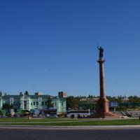 Площадь, вокзал., Камышин