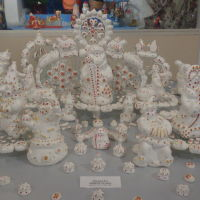 Один из экспонатов музея Новогодней игрушки, Великий Устюг