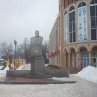 Памятник Неделину Митрофану Ивановичу -герою Советского Союза, Борисоглебск