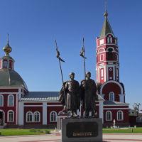 Князья Борис и Глеб, Борисоглебск