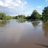 река Сундовик после летнего ливня (июль 2017г.), Большое Мурашкино
