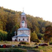 Васильсурск-Хмелёвская церковь Казанской иконы Божией Матери-июнь 2010г, Васильсурск