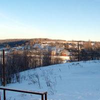 Васильсурск_ Вид на с.Хмелёвку - январь 2008г., Васильсурск
