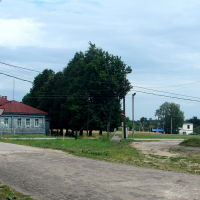 Васильсурск_Центр посёлка со стороны ул. М.Калинина-август 2016г., Васильсурск