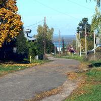 Васильсурск_ ул.К.Маркса (к Волге)-октябрь 2016г., Васильсурск