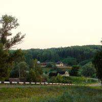 Васильсурск_Дорога в Хмелёвку (ул Советская)-июнь 2010г, Васильсурск