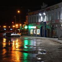 Вечер в городе., Павлово
