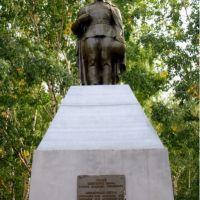 Памятник воинам в Гусево, Сергач